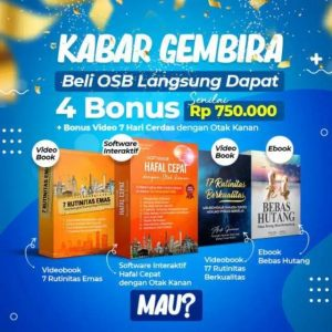 bonus cd dan ebook